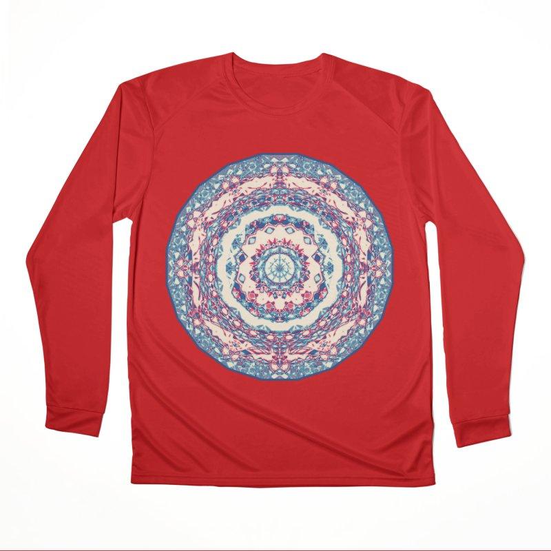 Dutchesque Mandala - Pastel Abstract Boho Design Women's Longsleeve T-Shirt by RML Studios: The Art & Design of Ryan Livingston
