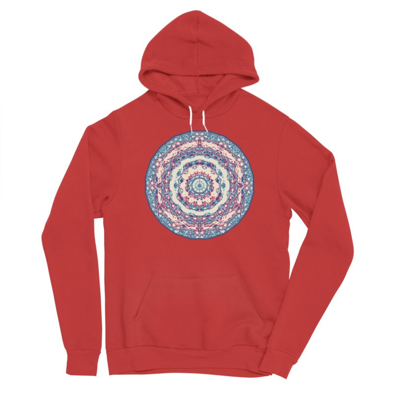 Dutchesque Mandala - Pastel Abstract Boho Design Women's Pullover Hoody by RML Studios: The Art & Design of Ryan Livingston