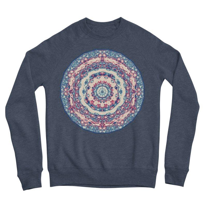 Dutchesque Mandala - Pastel Abstract Boho Design Men's Sweatshirt by RML Studios: The Art & Design of Ryan Livingston