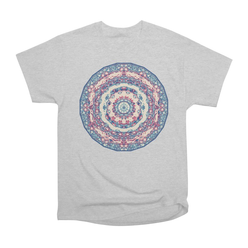 Dutchesque Mandala - Pastel Abstract Boho Design Men's T-Shirt by RML Studios: The Art & Design of Ryan Livingston