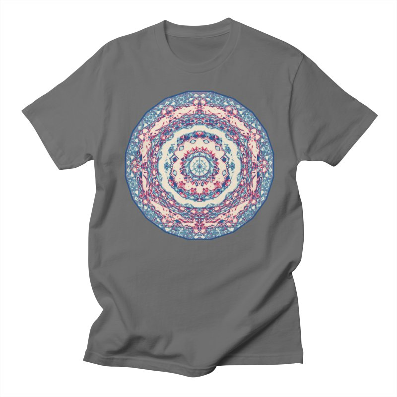 Dutchesque Mandala - Pastel Abstract Boho Design Women's T-Shirt by RML Studios: The Art & Design of Ryan Livingston