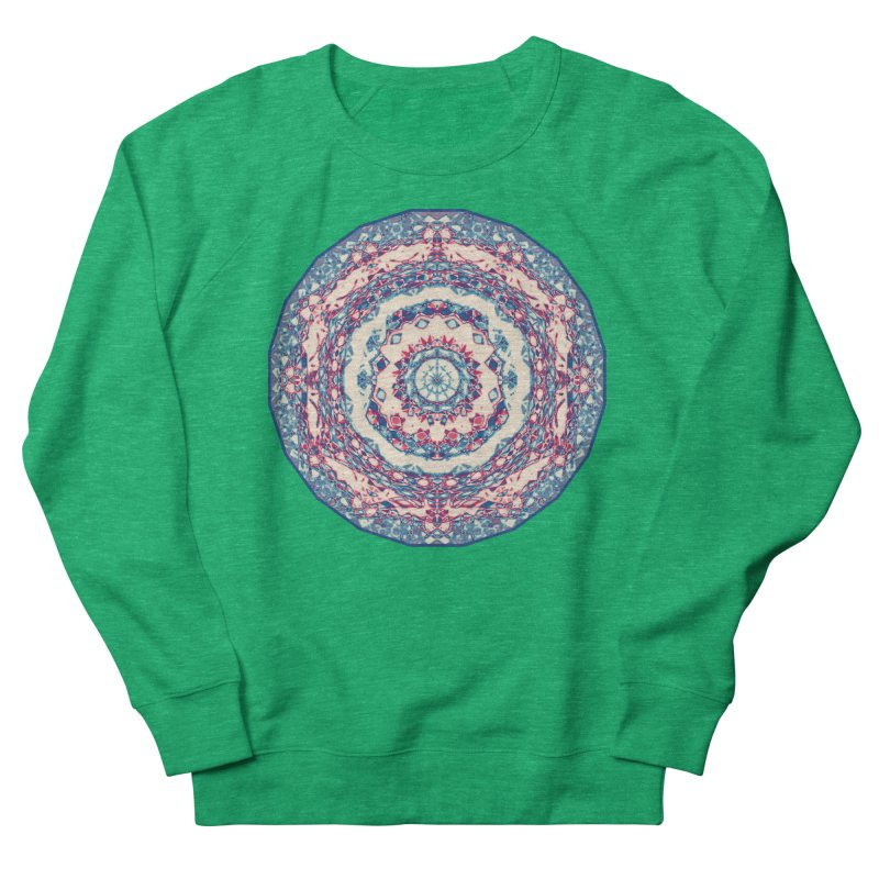 Dutchesque Mandala - Pastel Abstract Boho Design Women's Sweatshirt by RML Studios: The Art & Design of Ryan Livingston