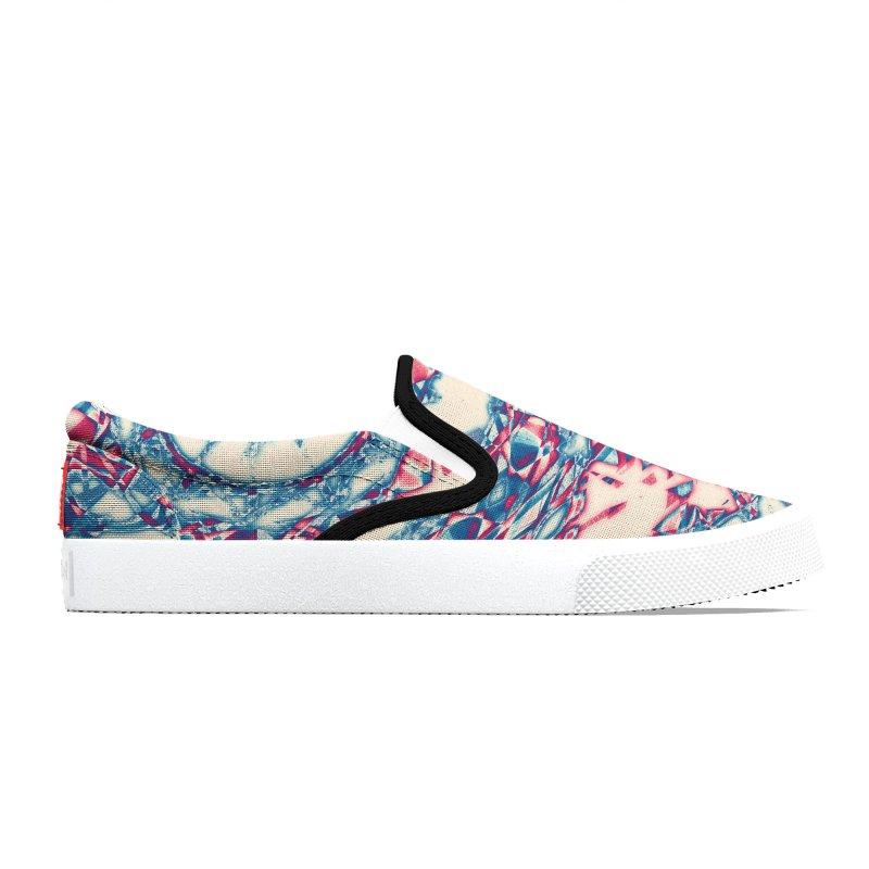Dutchesque Mandala - Pastel Abstract Boho Design Men's Shoes by RML Studios: The Art & Design of Ryan Livingston