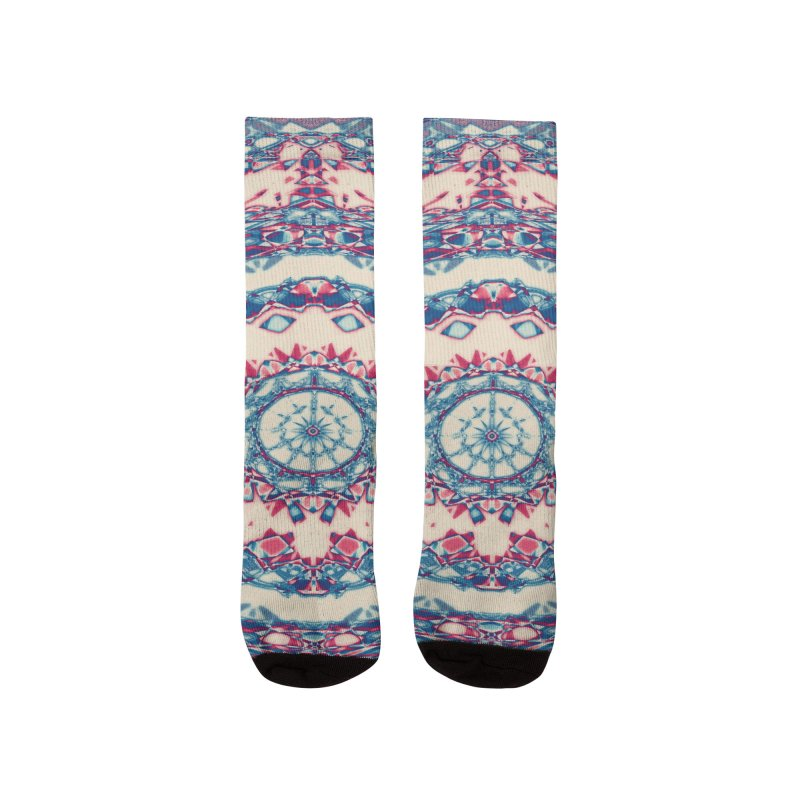 Dutchesque Mandala - Pastel Abstract Boho Design Women's Socks by RML Studios: The Art & Design of Ryan Livingston