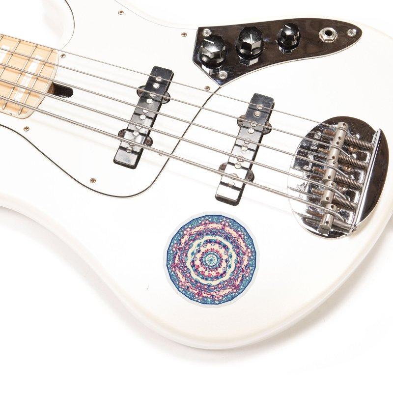Dutchesque Mandala - Pastel Abstract Boho Design Accessories Sticker by RML Studios: The Art & Design of Ryan Livingston