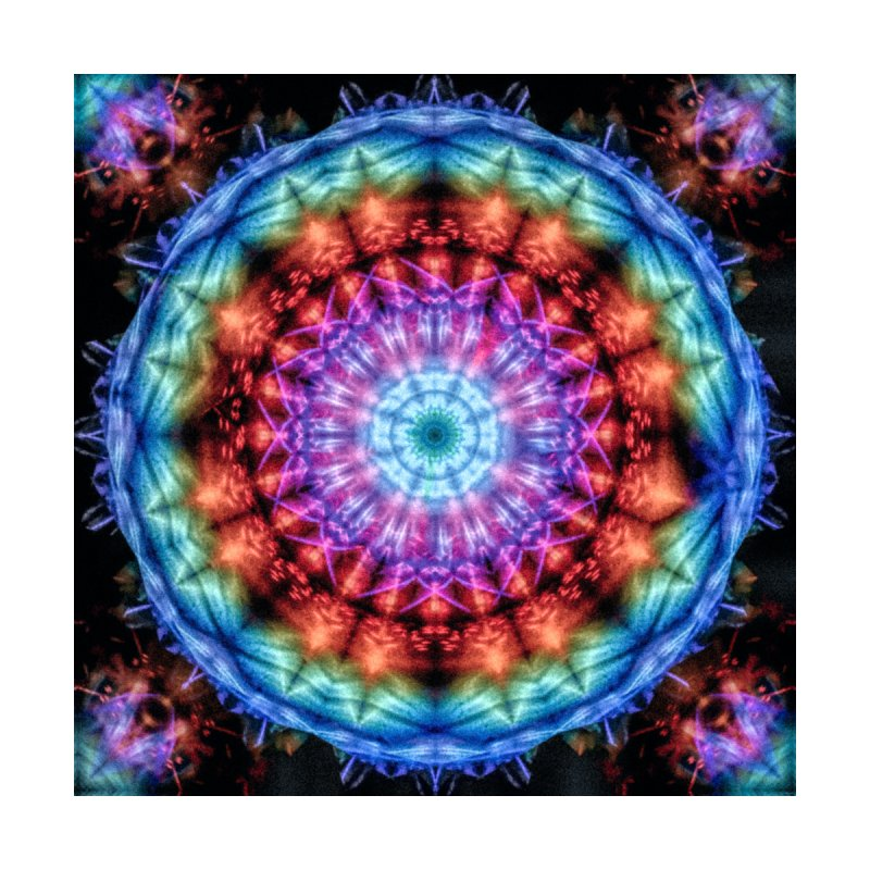 Plasmagoria -  Tie Dye Psychedelic Mandala Home Blanket by RML Studios: The Art & Design of Ryan Livingston