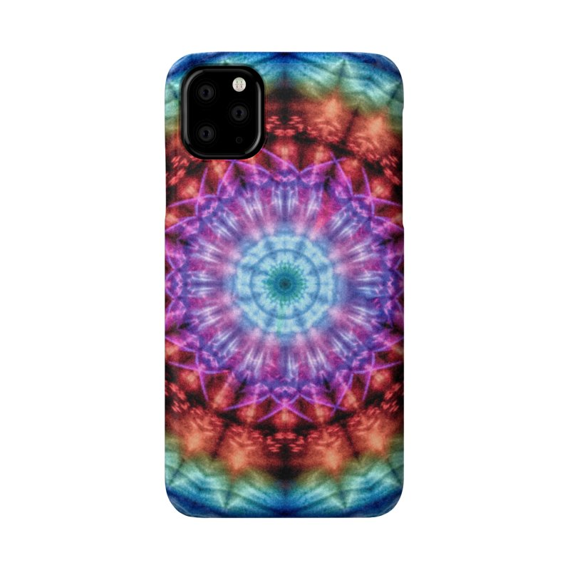 Plasmagoria -  Tie Dye Psychedelic Mandala Accessories Phone Case by RML Studios: The Art & Design of Ryan Livingston