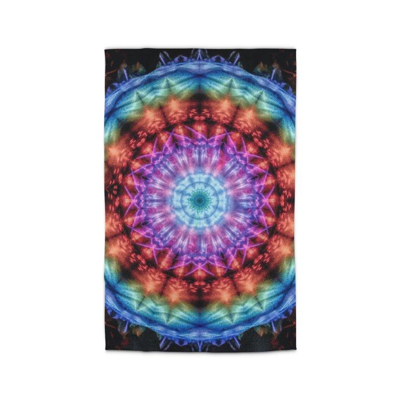 Plasmagoria -  Tie Dye Psychedelic Mandala Home Rug by RML Studios: The Art & Design of Ryan Livingston