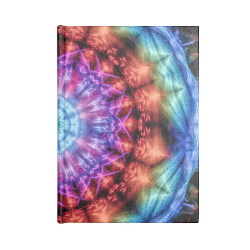 Plasmagoria -  Tie Dye Psychedelic Mandala Accessories Notebook by RML Studios: The Art & Design of Ryan Livingston
