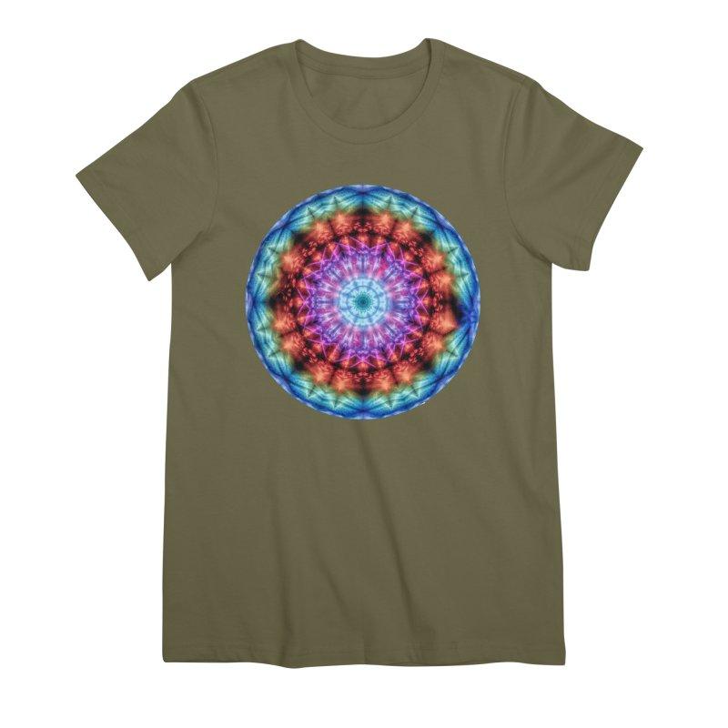 Plasmagoria -  Tie Dye Psychedelic Mandala Women's T-Shirt by RML Studios: The Art & Design of Ryan Livingston