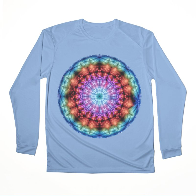 Plasmagoria -  Tie Dye Psychedelic Mandala Men's Longsleeve T-Shirt by RML Studios: The Art & Design of Ryan Livingston