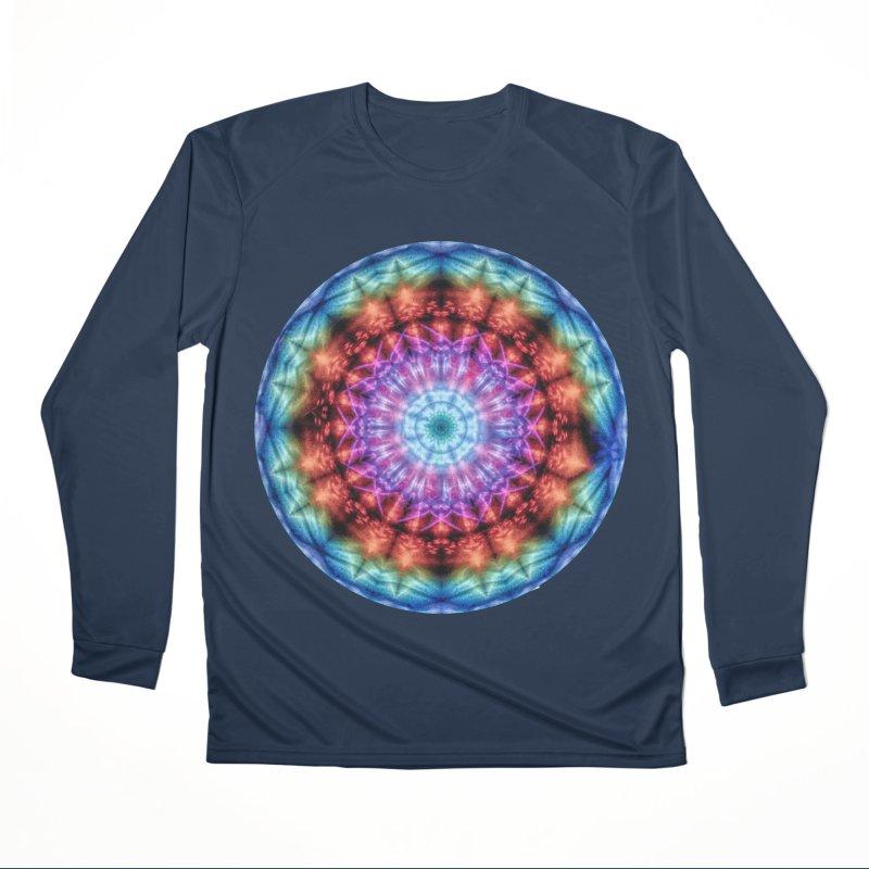 Plasmagoria -  Tie Dye Psychedelic Mandala Men's Longsleeve T-Shirt by RML Studios: The Art & Design of Ryan Livingston