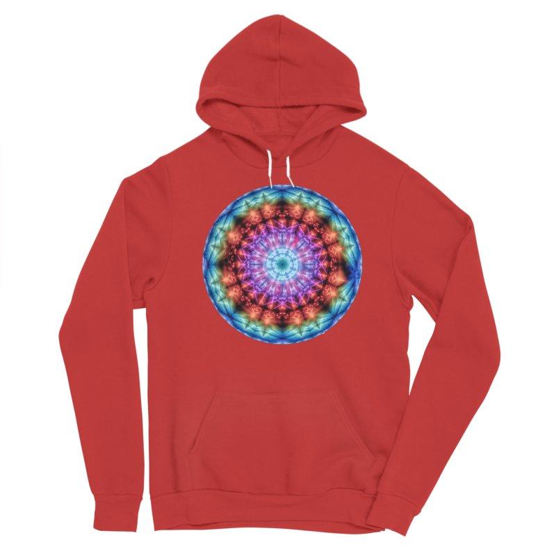 Plasmagoria -  Tie Dye Psychedelic Mandala Men's Pullover Hoody by RML Studios: The Art & Design of Ryan Livingston