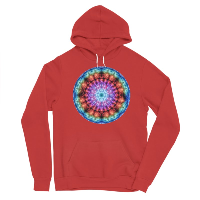 Plasmagoria -  Tie Dye Psychedelic Mandala Women's Pullover Hoody by RML Studios: The Art & Design of Ryan Livingston