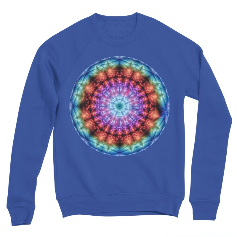 Plasmagoria -  Tie Dye Psychedelic Mandala Women's Sweatshirt by RML Studios: The Art & Design of Ryan Livingston