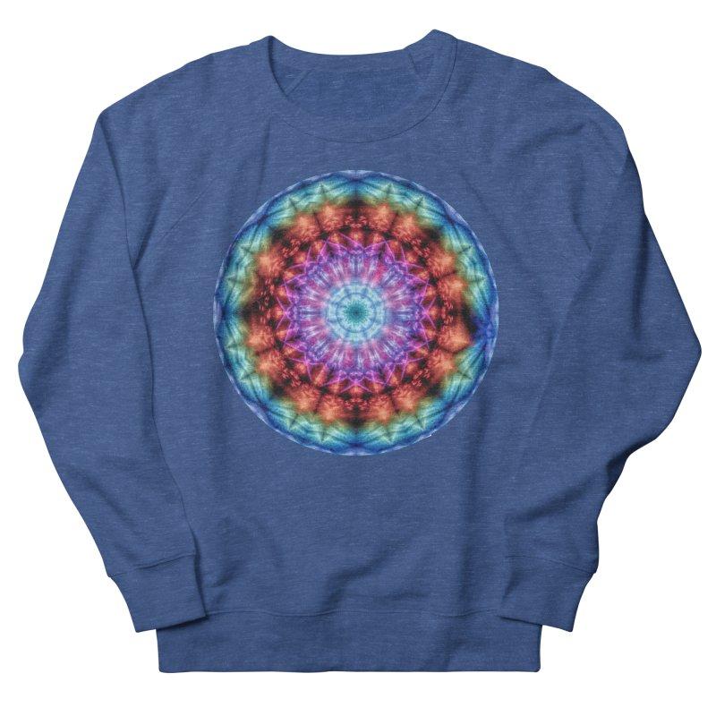 Plasmagoria -  Tie Dye Psychedelic Mandala Men's Sweatshirt by RML Studios: The Art & Design of Ryan Livingston