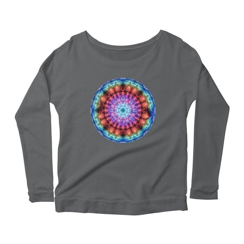 Plasmagoria -  Tie Dye Psychedelic Mandala Women's Longsleeve T-Shirt by RML Studios: The Art & Design of Ryan Livingston