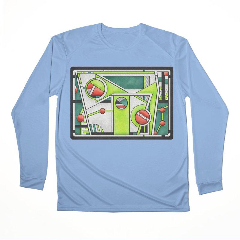 Treefrog - Cubist Amphibian Design Men's Longsleeve T-Shirt by RML Studios: The Art & Design of Ryan Livingston