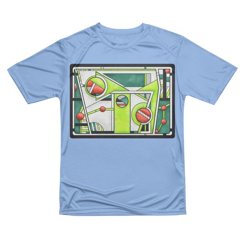 Treefrog - Cubist Amphibian Design Women's T-Shirt by RML Studios: The Art & Design of Ryan Livingston