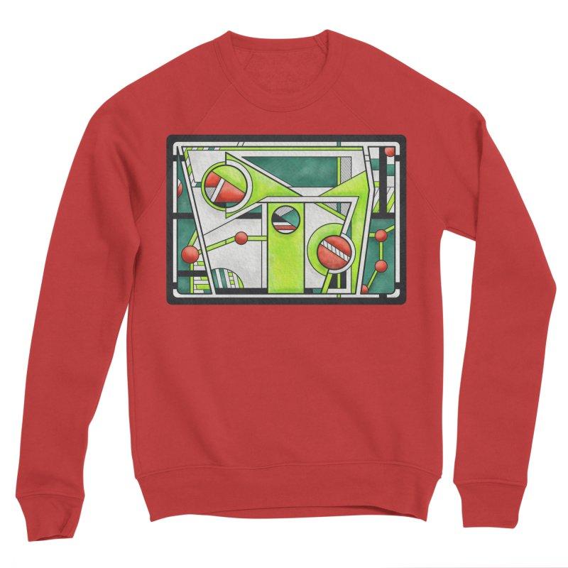 Treefrog - Cubist Amphibian Design Men's Sweatshirt by RML Studios: The Art & Design of Ryan Livingston