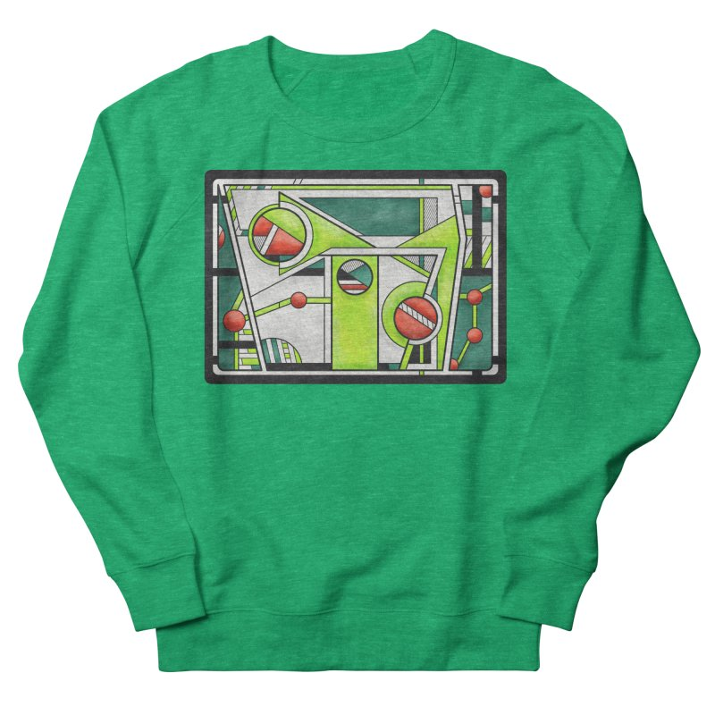Treefrog - Cubist Amphibian Design Women's Sweatshirt by RML Studios: The Art & Design of Ryan Livingston