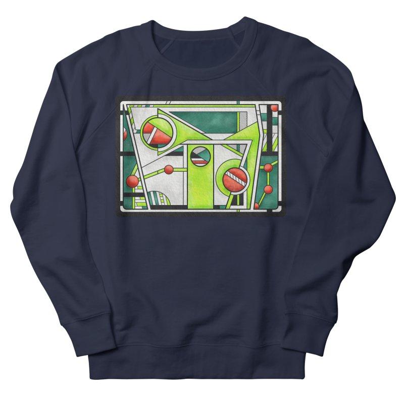 Treefrog - Cubist Amphibian Design Women's Sweatshirt by RML Studios: The Art & Design of Ryan Livingston