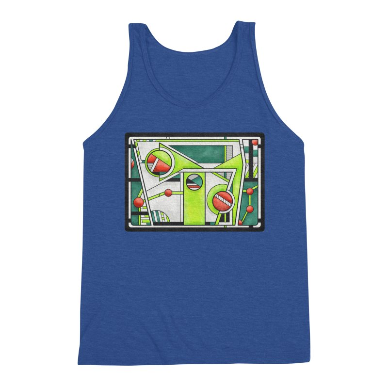 Treefrog - Cubist Amphibian Design Men's Tank by RML Studios: The Art & Design of Ryan Livingston