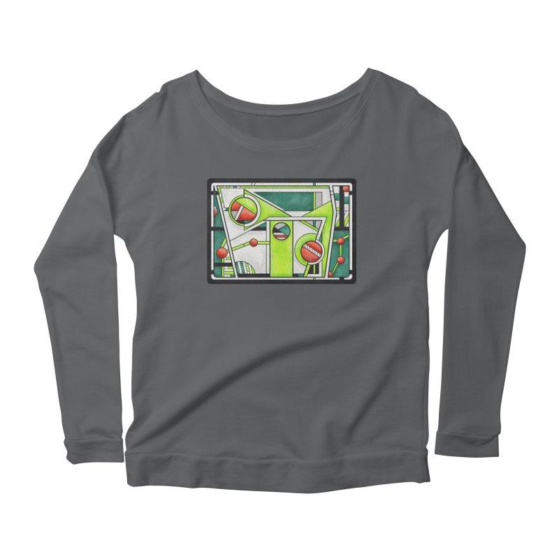 Treefrog - Cubist Amphibian Design Women's Longsleeve T-Shirt by RML Studios: The Art & Design of Ryan Livingston