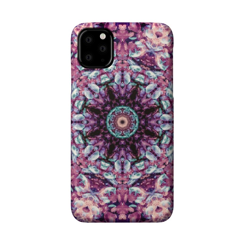 Bioluminescence II - Alien Abstract Mandala Accessories Phone Case by RML Studios: The Art & Design of Ryan Livingston