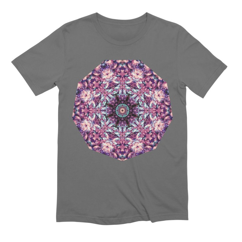 Bioluminescence II - Alien Abstract Mandala Men's T-Shirt by RML Studios: The Art & Design of Ryan Livingston