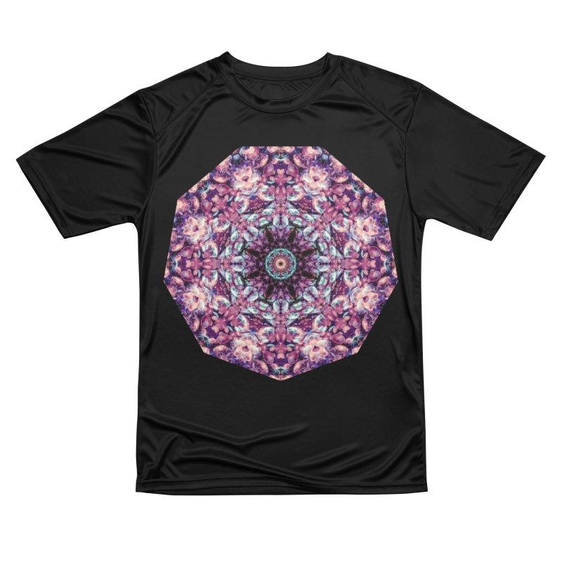 Bioluminescence II - Alien Abstract Mandala Women's T-Shirt by RML Studios: The Art & Design of Ryan Livingston
