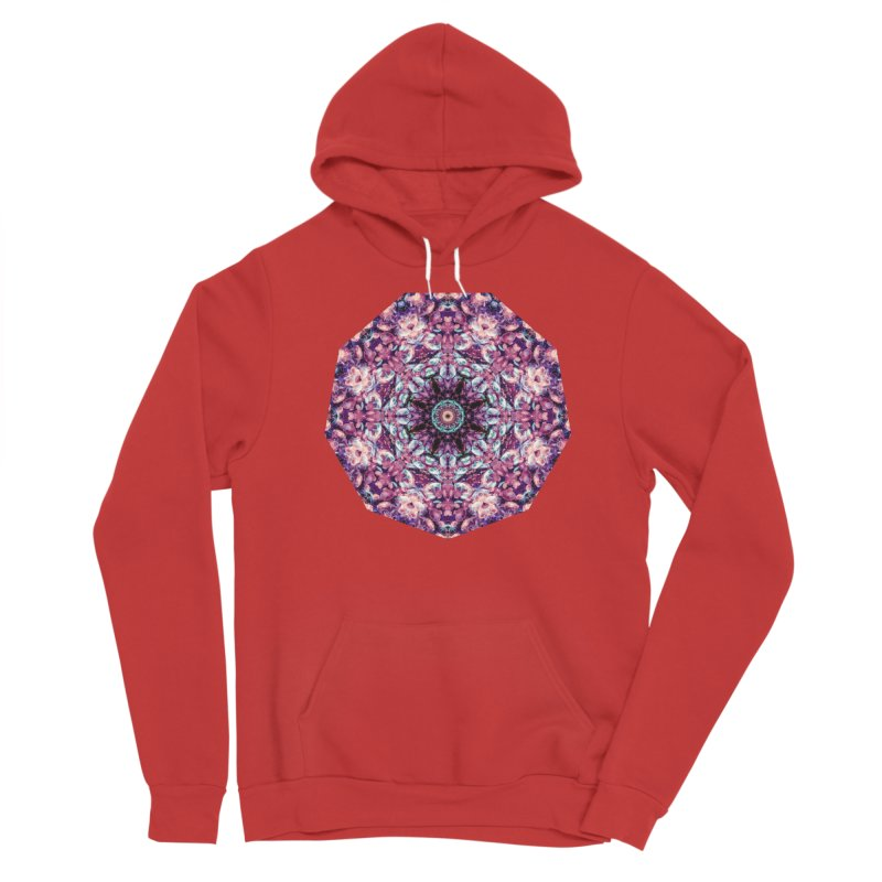 Bioluminescence II - Alien Abstract Mandala Men's Pullover Hoody by RML Studios: The Art & Design of Ryan Livingston