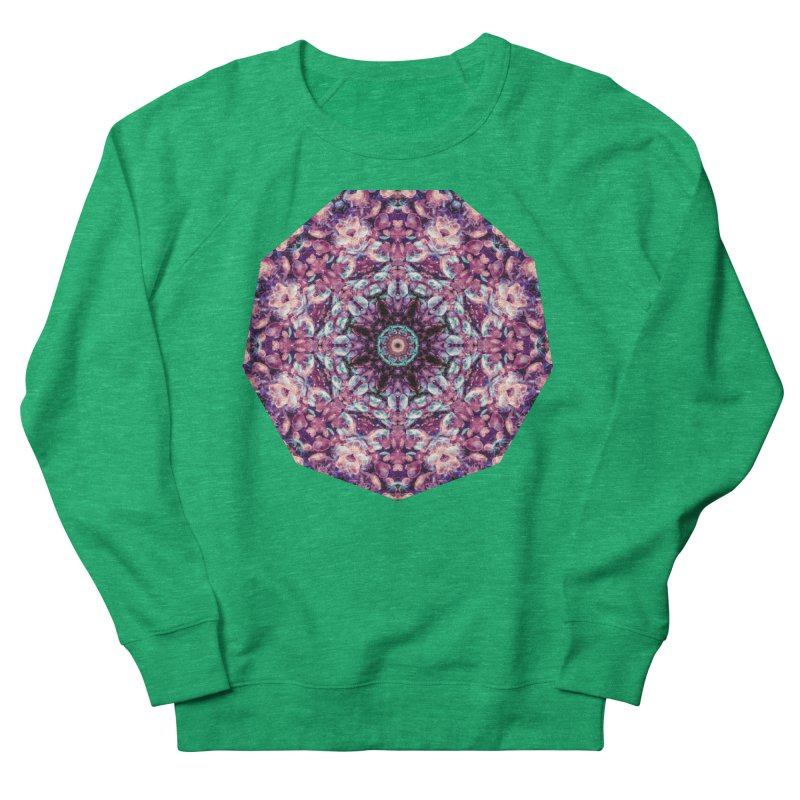 Bioluminescence II - Alien Abstract Mandala Women's Sweatshirt by RML Studios: The Art & Design of Ryan Livingston