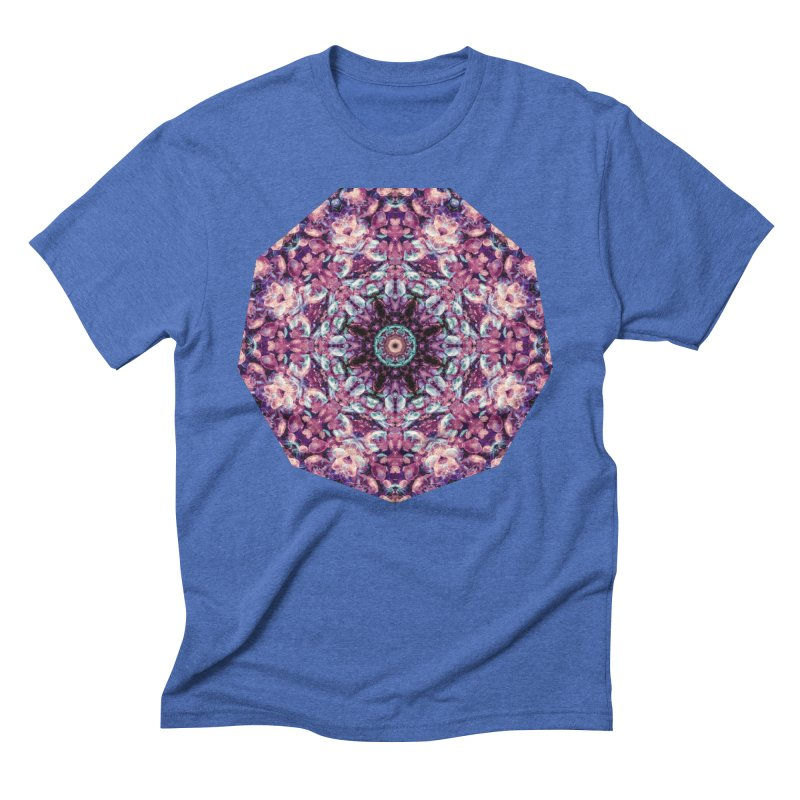 Bioluminescence II - Alien Abstract Mandala Men's T-Shirt by RML Studios: The Art & Design of Ryan Livingston