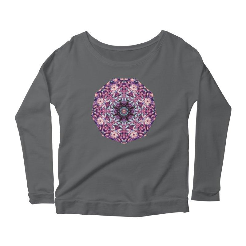Bioluminescence II - Alien Abstract Mandala Women's Longsleeve T-Shirt by RML Studios: The Art & Design of Ryan Livingston