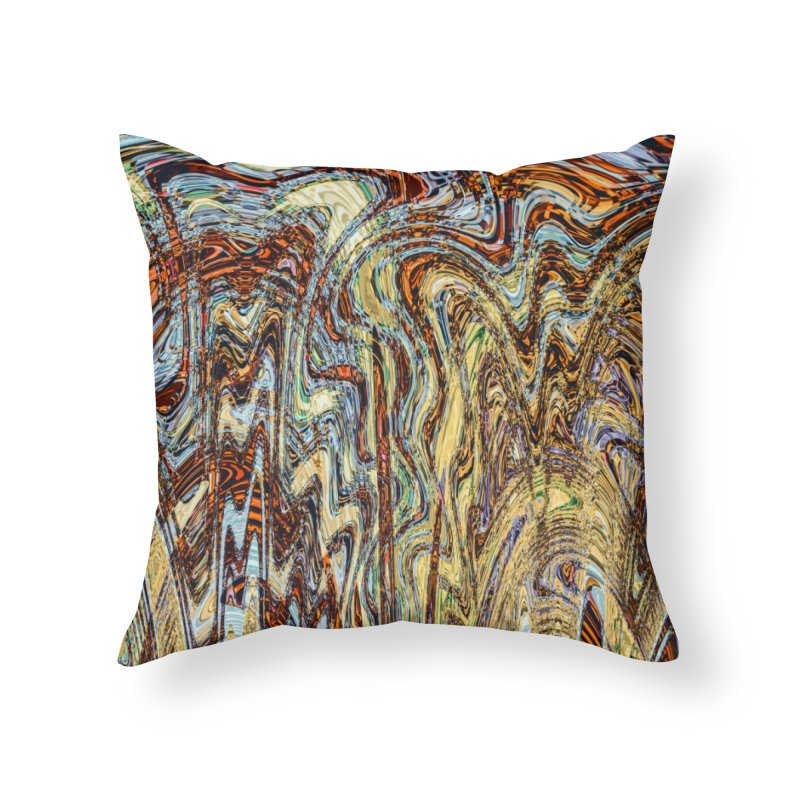 Scramble Home Throw Pillow by RML Studios: The Art & Design of Ryan Livingston