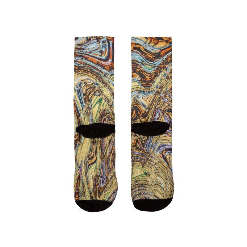 Scramble Women's Socks by RML Studios: The Art & Design of Ryan Livingston