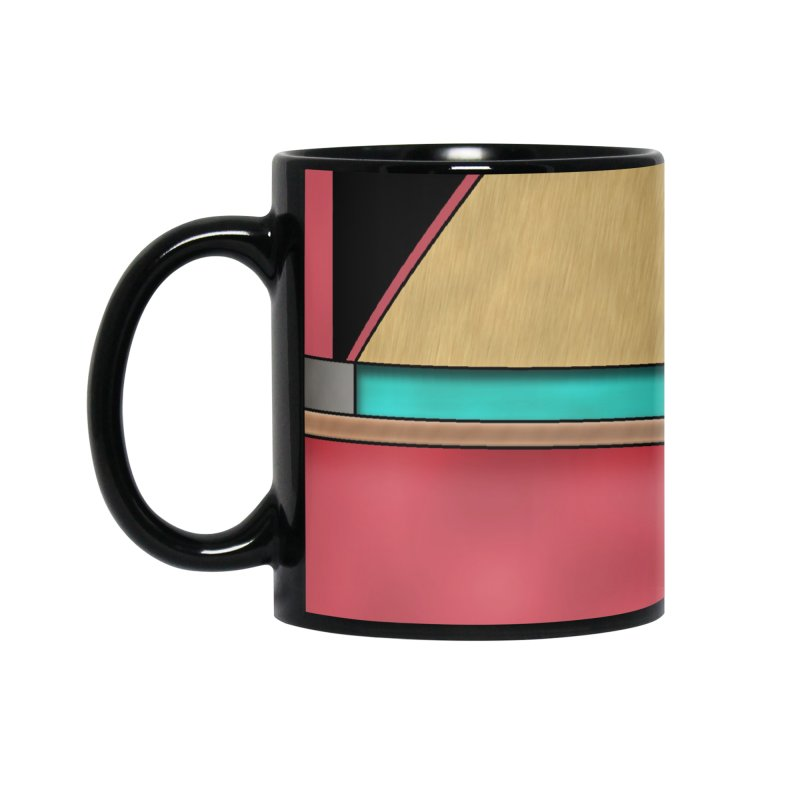 Quad - Geometric Art Deco Design Accessories Mug by RML Studios: The Art & Design of Ryan Livingston