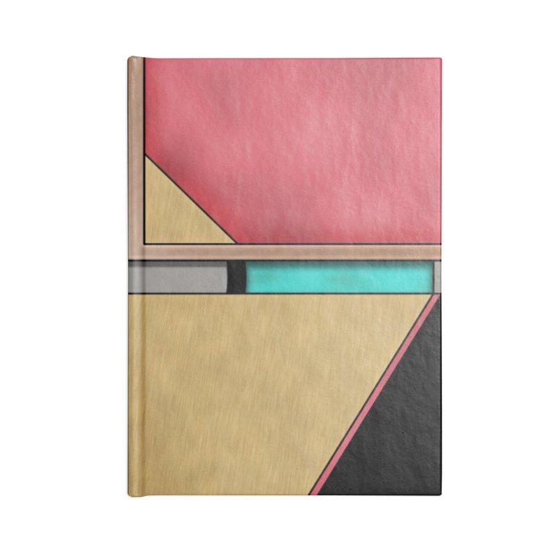 Quad - Geometric Art Deco Design Accessories Notebook by RML Studios: The Art & Design of Ryan Livingston