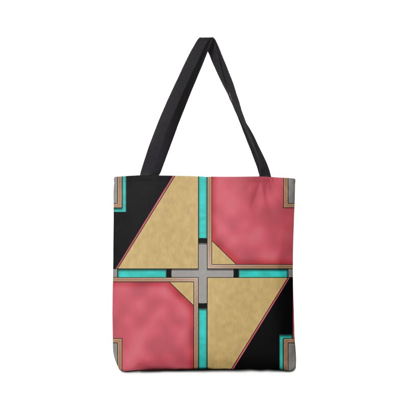 Quad - Geometric Art Deco Design Accessories Bag by RML Studios: The Art & Design of Ryan Livingston
