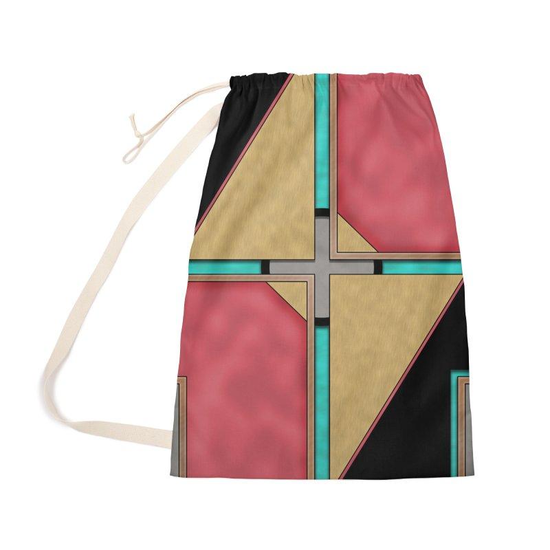 Quad - Geometric Art Deco Design Accessories Bag by RML Studios: The Art & Design of Ryan Livingston