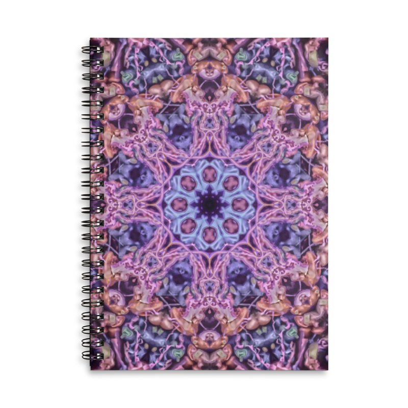 Bioluminescence - Neon Mandala Accessories Notebook by RML Studios: The Art & Design of Ryan Livingston