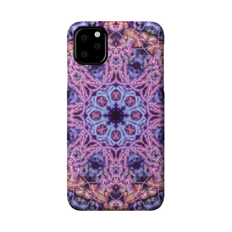 Bioluminescence - Neon Mandala Accessories Phone Case by RML Studios: The Art & Design of Ryan Livingston