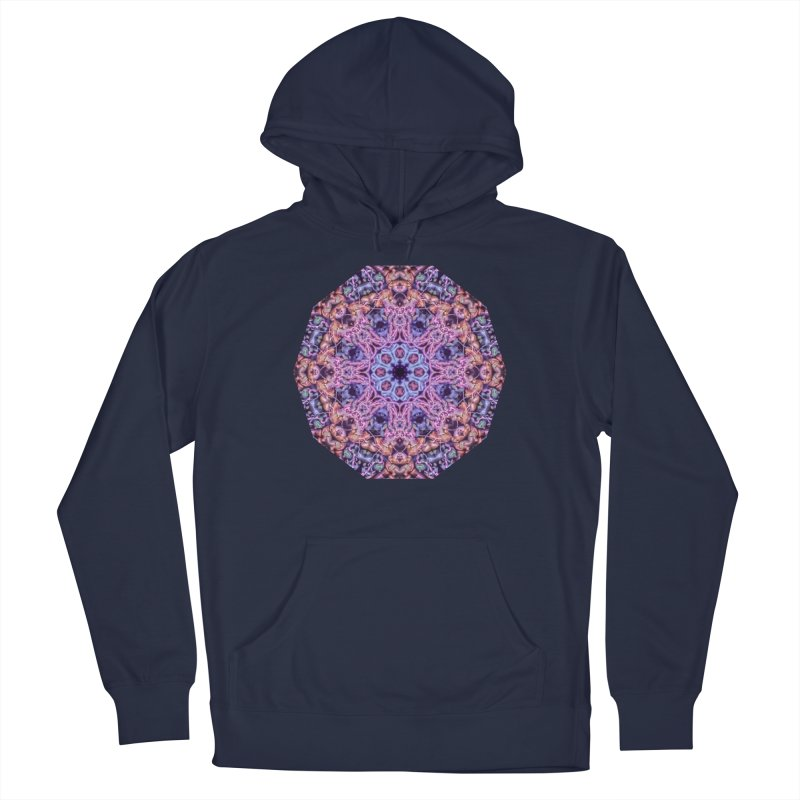 Bioluminescence - Neon Mandala Men's Pullover Hoody by RML Studios: The Art & Design of Ryan Livingston