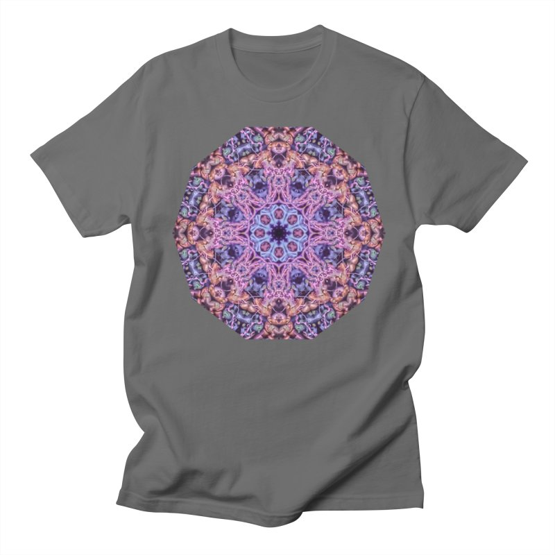 Bioluminescence - Neon Mandala Men's T-Shirt by RML Studios: The Art & Design of Ryan Livingston