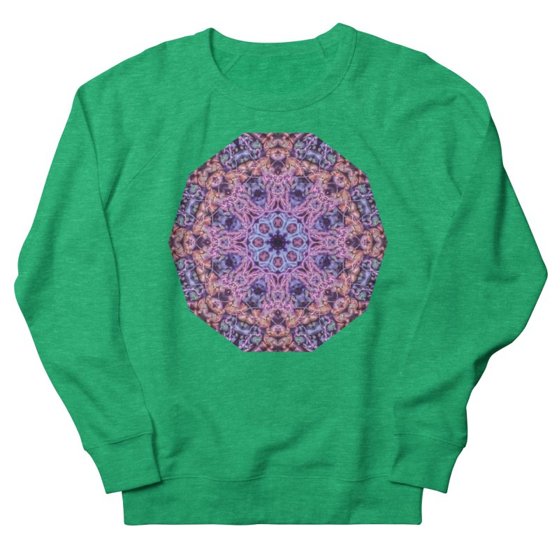 Bioluminescence - Neon Mandala Women's Sweatshirt by RML Studios: The Art & Design of Ryan Livingston