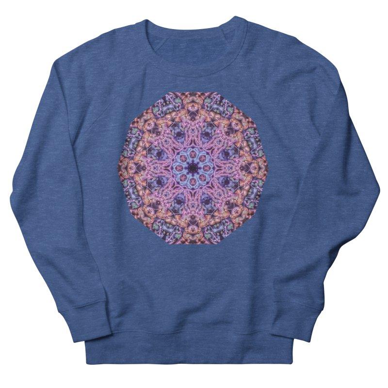 Bioluminescence - Neon Mandala Men's Sweatshirt by RML Studios: The Art & Design of Ryan Livingston