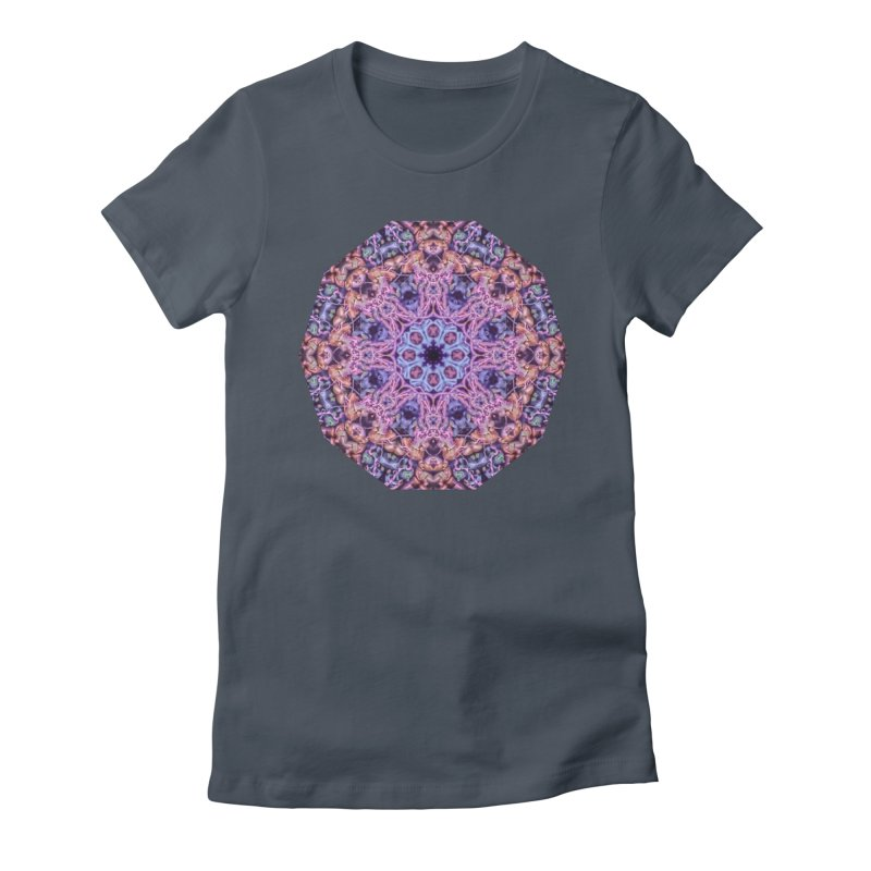 Bioluminescence - Neon Mandala Women's T-Shirt by RML Studios: The Art & Design of Ryan Livingston