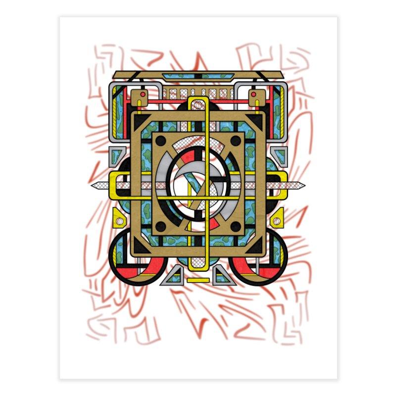 Switchplate Home Fine Art Print by RML Studios: The Art & Design of Ryan Livingston