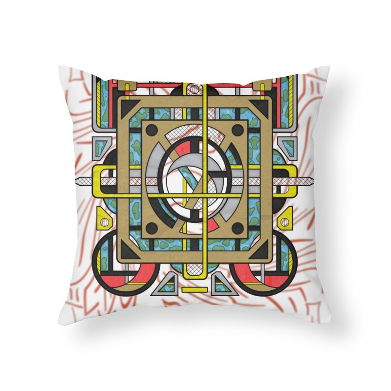 Switchplate Home Throw Pillow by RML Studios: The Art & Design of Ryan Livingston